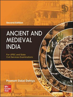 Ancient and Medieval India by Poonam Dalal Dahiya (2nd Edition)