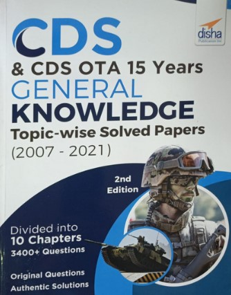 CDS 15 Years General Knowledge Solved Papers (Topic wise 2007 - 2021)