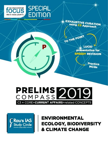 Focus Prelims Compass 2020 - Environmental Ecology, Biodiversity & Climate Change