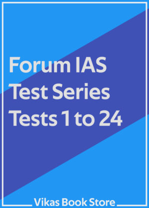 Forum IAS Test Series - Tests 1 to 24 (Set)