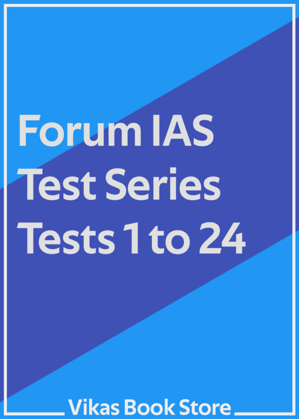 Forum IAS Test Series - Tests 1 to 24 (Set)