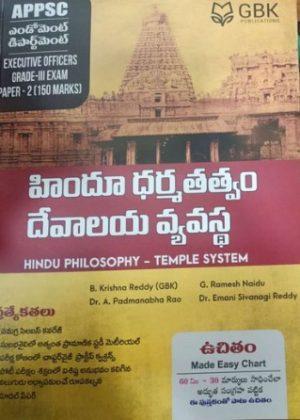 Hindu Philosophy - Temple System