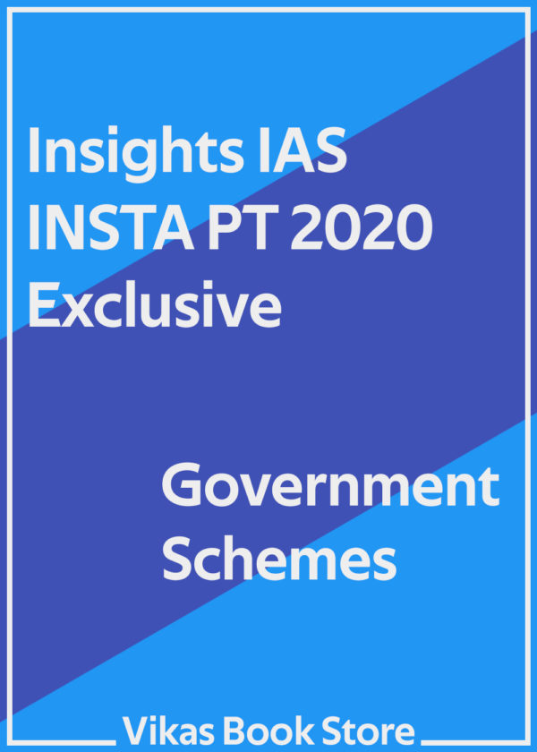 Insights IAS INSTA PT 2020 - Government Schemes