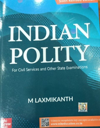 M Laxmikanth - Indian Polity (Sixth Revised Edition)