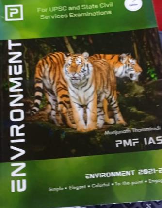 PMF IAS - Environment