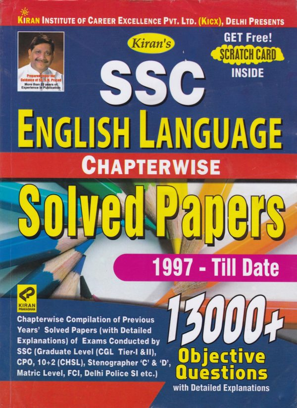 SSC English Language Solved Papers - Chapterwise