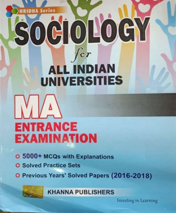 Sociology for MA Entrance Examination