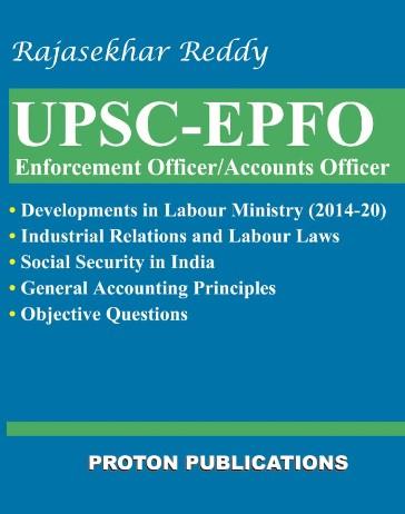 UPSC-EPFO by Rajasekhar Reddy