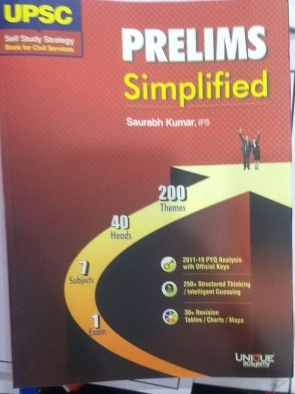 UPSC Prelims Simplified by Saurabh Kumar