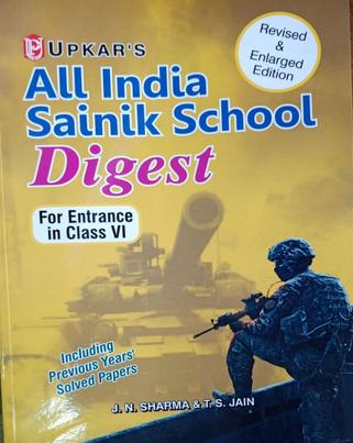 Upkar's All India Sainik School Digest