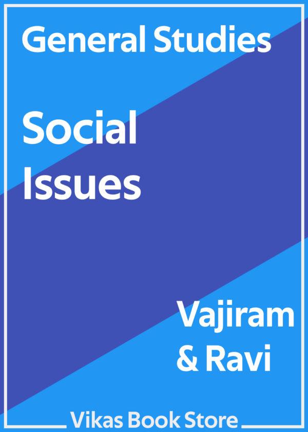 Vajiram & Ravi - General Studies Social Issues
