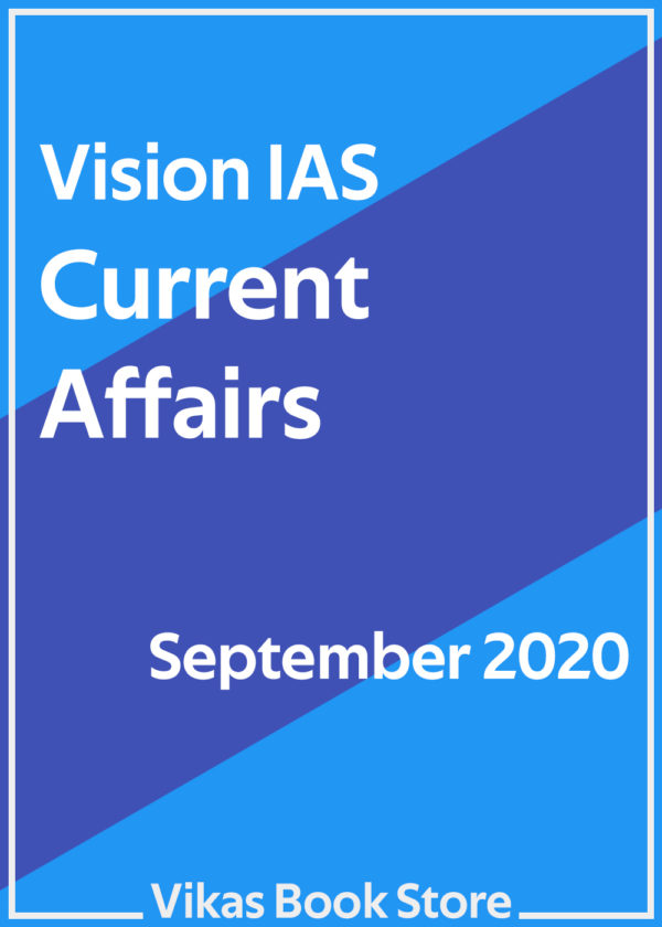 Vision IAS – Current Affairs (September 2020)