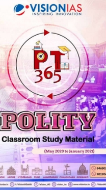 Vision IAS PT 365 – Polity (May 2020 to January 2021)